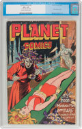 Golden Age (1938-1955):Science Fiction, Planet Comics #41 (Fiction House, 1946) CGC VG+ 4.5 Cream tooff-white pages....