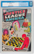 Silver Age (1956-1969):Superhero, Justice League of America #1 (DC, 1960) CGC FN- 5.5 Cream tooff-white pages....