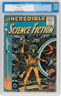 Golden Age (1938-1955):Science Fiction, Incredible Science Fiction #33 (EC, 1956) CGC FN 6.0 Cream...
