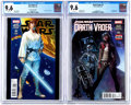 Modern Age (1980-Present):Science Fiction, Star Wars #1/Darth Vader #3 CGC-Graded Group (Marvel, 2015)Condition: CGC NM+ 9.6.... (Total: 2 Comic Books)