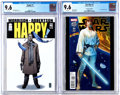 Modern Age (1980-Present):Science Fiction, Star Wars #1/Happy! #1 Group (Marvel, 2012-15) Condition: CGC NM+9.6.... (Total: 2 Comic Books)