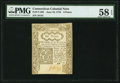 Colonial Notes:Connecticut, Connecticut June 19, 1776 6d PMG Choice About Unc 58 EPQ.. ...