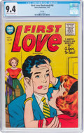 Golden Age (1938-1955):Romance, First Love Illustrated #58 File Copy (Harvey, 1955) CGC NM 9.4Cream to off-white pages....