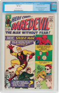 Silver Age (1956-1969):Superhero, Daredevil #1 (Marvel, 1964) CGC VF 8.0 Cream to off-white pages....