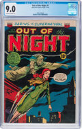 Golden Age (1938-1955):Horror, Out of the Night #7 (ACG, 1953) CGC VF/NM 9.0 Off-white to whitepages....