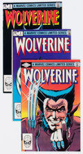 Modern Age (1980-Present):Superhero, Wolverine #1-4 Group (Marvel, 1982) Condition: Average VF+....(Total: 4 Comic Books)
