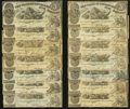 Obsoletes By State:Louisiana, A Group of State of Louisiana $5 Notes.. ... (Total: 25 notes)