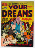 Golden Age (1938-1955):Horror, Strange World of Your Dreams #2 (Prize, 1952) Condition: VG/FN....