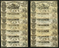 Obsoletes By State:Louisiana, A Selection of State of Louisana $5 Notes.. ... (Total: 25 notes)