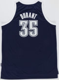 Basketball Collectibles:Others, Kevin Durant Signed Oklahoma City Thunder Jersey. ...
