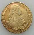 Colombia, Colombia: Charles IV gold 8 Escudos 1806 NR-JJ VF,...