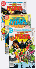 Modern Age (1980-Present):Superhero, New Teen Titans Box Lot (DC, 1980-94) Condition: Average NM-....