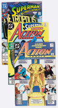Modern Age (1980-Present):Superhero, DC Modern Age Comics Box Lot (DC, 1980s-2000s) Condition: AverageVF/NM....