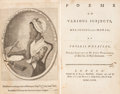 Books:Literature Pre-1900, Phillis Wheatley. Poems on Various Subjects, Religiousand Moral. By Phillis Wheatley, Negro Servant to Mr. John...