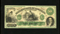 Obsoletes By State:Louisiana, Shreveport, LA- Citizens' Bank of Louisiana $50 18__. Nice margins and color are found on this quality ABNCo remainder. Ch...