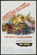 """Movie Posters:War, The Train (United Artists, 1965). One Sheet (27"""" X 41"""") Style B.War. ..."""