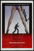 "Movie Posters:James Bond, For Your Eyes Only (United Artists, 1981). One Sheet (27"" X 41"") Advance. James Bond. ..."