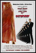 "Movie Posters:James Bond, Octopussy (MGM/UA, 1983). One Sheet (27"" X 41"") Advance Style A.James Bond. ..."