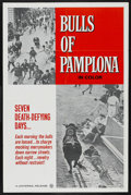 "Movie Posters:Documentary, Bulls of Pamplona (Universal, 1960's). One Sheet (27"" X 41""). Documentary...."