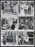 "Movie Posters:Documentary, Marilyn (20th Century Fox, 1963). Stills (6) (8"" X 10""). Documentary. ... (Total: 6 Items)"