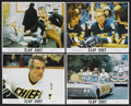 "Movie Posters:Sports, Slap Shot (Universal, 1977). Mini-Lobby Card Set of 4 (8"" X 10""). Sports. ... (Total: 4 Items)"