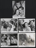 "Movie Posters:War, The Real Glory (United Artists, 1939). Stills (5) (8"" X 10""). War.... (Total: 5 Items)"