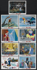 "Movie Posters:Animated, The Sword in the Stone (Buena Vista, R-1973). Lobby Card Set of 9(11"" X 14""). Animated. ... (Total: 9 Items)"