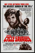 """Movie Posters:Action, The Cycle Savages (Trans American, 1970). One Sheet (27"""" X 41""""). Action. ..."""