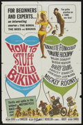 "Movie Posters:Comedy, How to Stuff a Wild Bikini (American International, 1965). One Sheet (27"" X 41""). Comedy...."