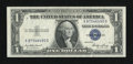 Error Notes:Blank Reverse (<100%), Fr. 1614 $1 1935E Silver Certificate. About Uncirculated.. ...