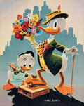 Memorabilia:Disney, Carl Barks Dude for a Day Limited Edition Print #PP15 (Another Rainbow Publishing, 1992).... (Total: 2 Items)