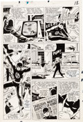 Original Comic Art:Panel Pages, Bob Powell and Wally Wood Daredevil #10 Story Page 14Original Art (Marvel, 1965)....