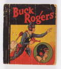 Platinum Age (1897-1937):Miscellaneous, Big Little Book #nn Buck Rogers Tarzan Ice Cream (Whitman, 1935) Condition: GD+....