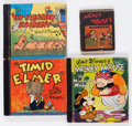 Big Little Book:Miscellaneous, Walt Disney Related Group of 4 (Whitman, 1940s) Condition: AverageGD+.... (Total: 4 Items)
