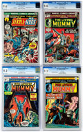 Bronze Age (1970-1979):Horror, Supernatural Thrillers CGC-Graded Group of 4 (Marvel, 1972) CGC....(Total: 4 Comic Books)