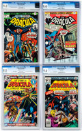 Bronze Age (1970-1979):Horror, Tomb of Dracula CGC-Graded Group of 6 (Marvel, 1973-79).... (Total:6 Comic Books)