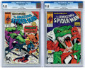 Modern Age (1980-Present):Superhero, The Amazing Spider-Man #312 and 313 Group (Marvel, 1989) Condition:CGC NM/MT 9.8.... (Total: 2 Comic Books)