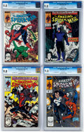 Modern Age (1980-Present):Superhero, The Amazing Spider-Man Group of 4 (Marvel, 1989-90) Condition: CGCNM/MT 9.8.... (Total: 4 Comic Books)