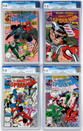 Modern Age (1980-Present):Superhero, The Amazing Spider-Man Group of 4 (Marvel, 1990) Condition: CGCNM/MT 9.8.... (Total: 4 Comic Books)