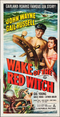 "Movie Posters:Adventure, Wake of the Red Witch (Republic, 1949). Three Sheet (41"" X 79.5"").Adventure.. ..."