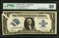 Error Notes:Large Size Errors, Fr. 237 $1 1923 Silver Certificate PMG Very Fine 30.. ...