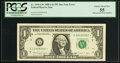 Fr. 1916-G* $1 1988A Federal Reserve Note. PCGS Choice About New 55