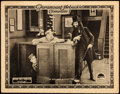 "Movie Posters:Comedy, The Bell Boy (Paramount, 1918). Lobby Card (11"" X 14"").. ..."