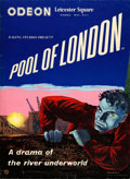 "Movie Posters:Crime, Pool of London (GFD, 1951). Full-Bleed British Crown (17"" X 22"") James Boswell Artwork.. ..."