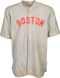 1911 Jack Killilay Game Worn Boston Red Sox Jersey, MEARS A7