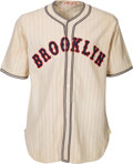 Baseball Collectibles:Uniforms, 1936 Casey Stengel Game Worn Brooklyn Dodgers Uniform....