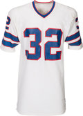 Football Collectibles:Uniforms, Mid-1970's OJ Simpson Game Worn Buffalo Bills Jersey - Photo Matched!. ...