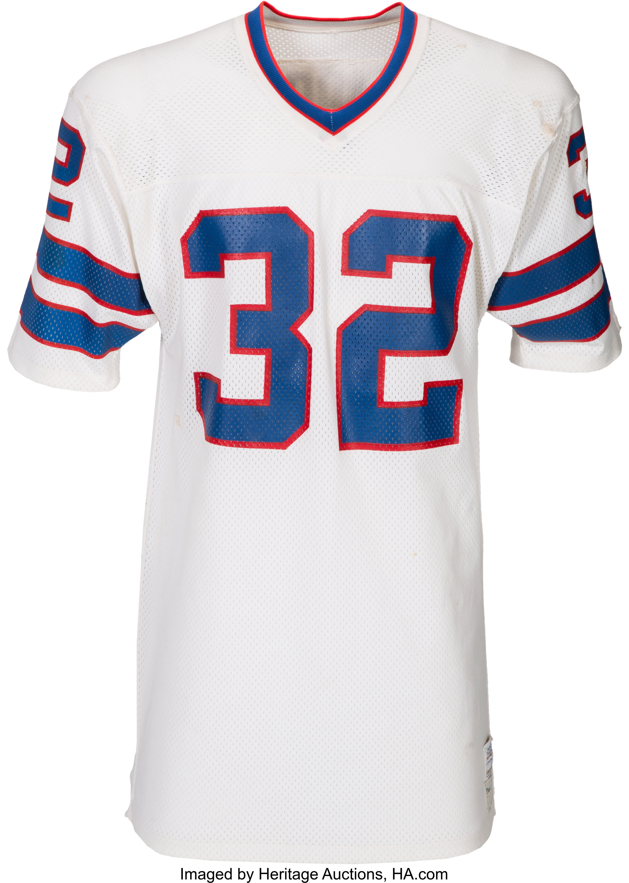 sneakers for cheap dd271 eb7d6 Mid-1970's OJ Simpson Game Worn Buffalo Bills Jersey - Photo ...