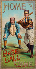 Baseball Collectibles:Others, 1897 Home Base Ball Game by McLoughlin Bros. ...