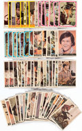 Memorabilia:Trading Cards, Monkees Trading Cards Group of 72 (Raybert, 1966-67).... (Total: 72 Items)